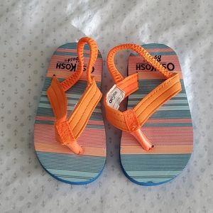 🌼🌼NWOT Osh Kosh flip flop. XS 3-4